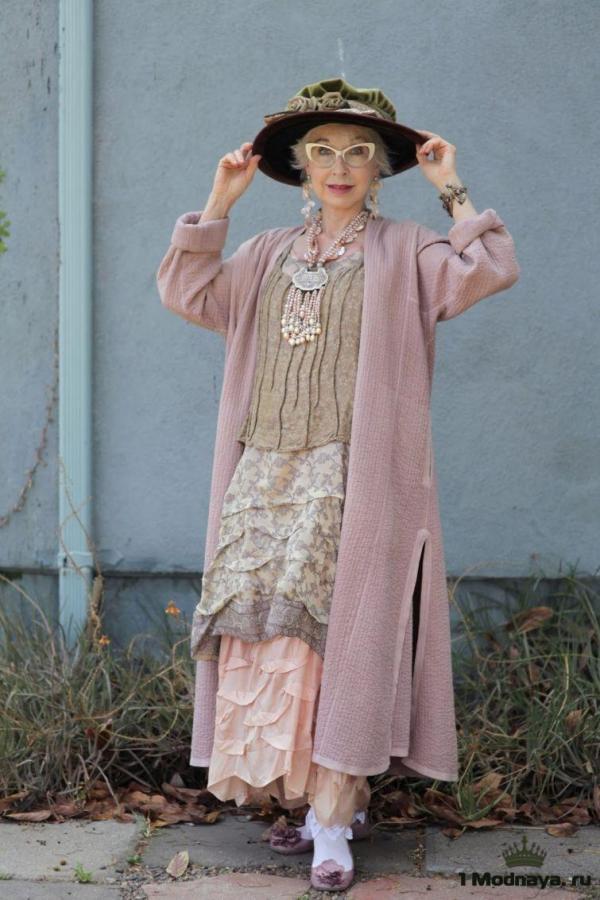 """Стиль """"бохо"""" в одежде для тех кому за 40-50 лет: фото ..."""