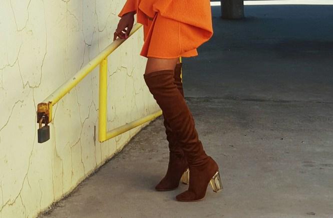 Coats & Perspex (Part II: Orange is the new black)