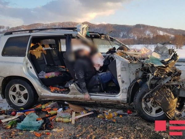 В России бизнесмен-азербайджанец и его сын погибли в ДТП ...
