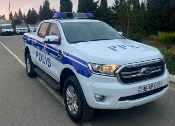 Азербайджанская полиция получила новые служебные ...