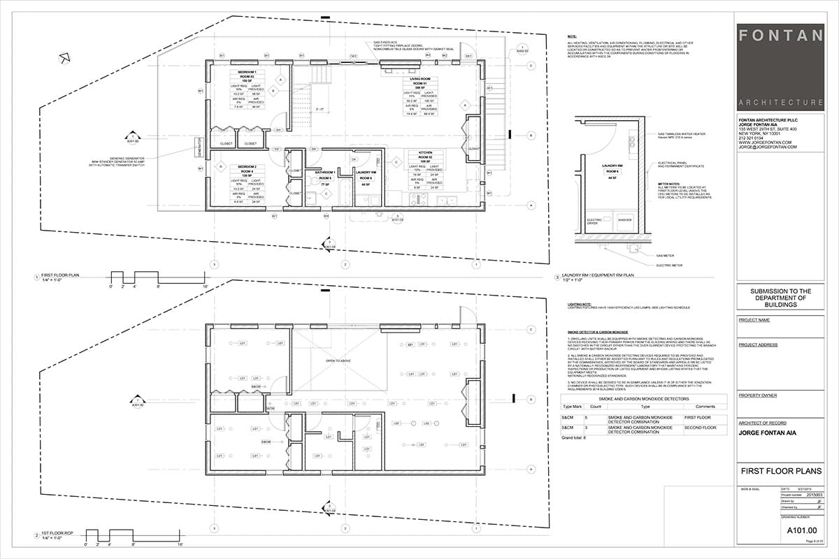 Aia Schematic Design Checklist