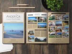IDENTITE-Magazine-immobilier - 1 Noiseau à Paris - Graphiste illustratrice Webdesigner Val de Marne