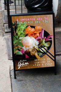 SIGNALETIQUE-YUN-Pannea rue - 1 Noiseau à Paris - Graphiste illustratrice Webdesigner Val de Marne
