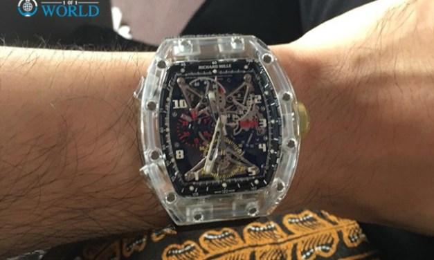 Richard Mille RM056 Tourbillon Sapphire