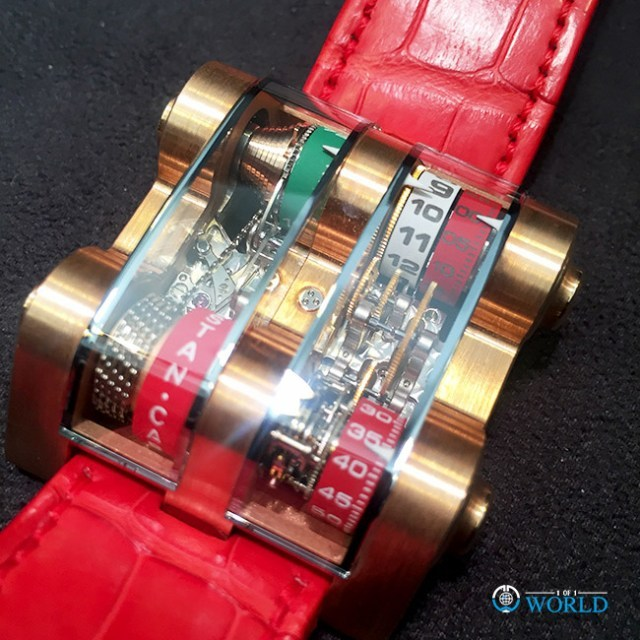 "Cabestan HolyNitro ""Ferrari"" Winch Tourbillon Vertical Piece Unique"