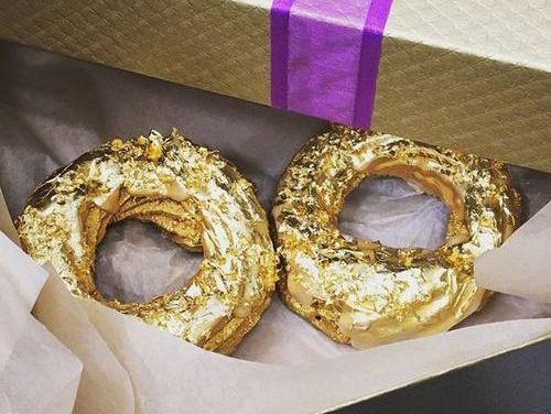$100 Gold Doughnut