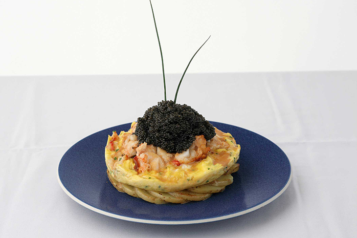 The Zillion Dollar Lobster Frittata