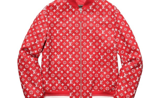 Louis Vuitton X Supreme Jacket