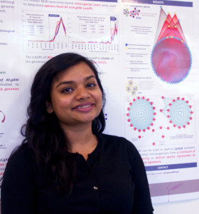 Neha Varghese is the first author of the Nucleic Acids Research paper describing the MiSI method for classifying microbial species.