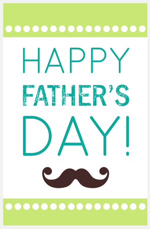 Free Fathers Day Printable Cards ~ I Love My Dad #Free # ...