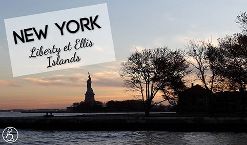 New York en fauteuil, Liberty et Ellis Islands
