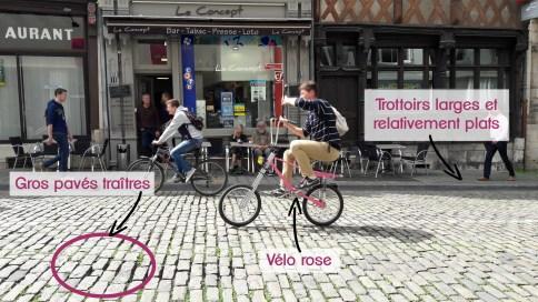Rue de Bourges accessibilité