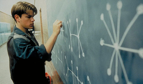 Will Hunting (Matt Damon)