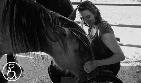 Monter à cheval quand on est en fauteuil