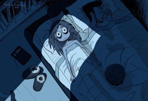 Nuit d'insomnie et fauteuil