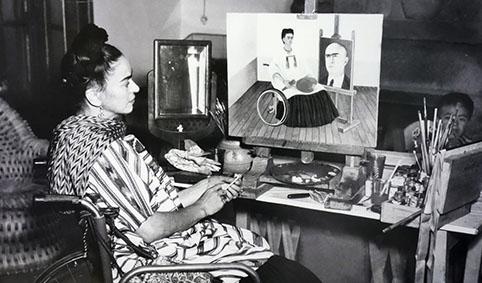 Confinement, Frida Kahlo
