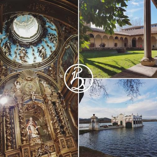 Monastère et lac