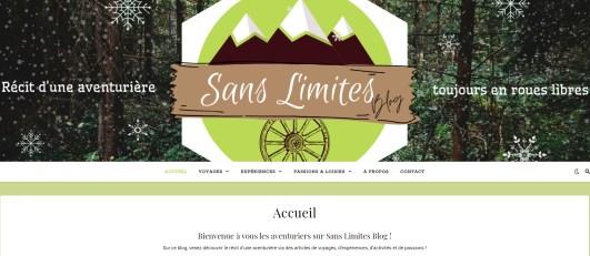 Sans limites blog - Axelle