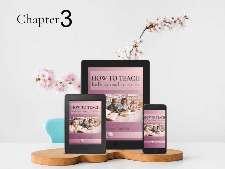 How to Teach Kids to read in 2020+  Chapter 3