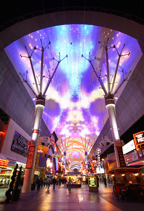 Fremont Street Light Show Schedule