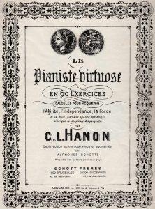 Le pianiste virtuose de Hanon.