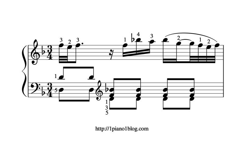Bach, Marcello ornements mesure11