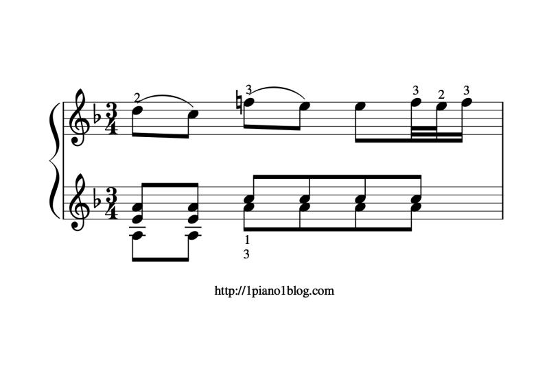 Bach, Marcello adagio 974 au piano