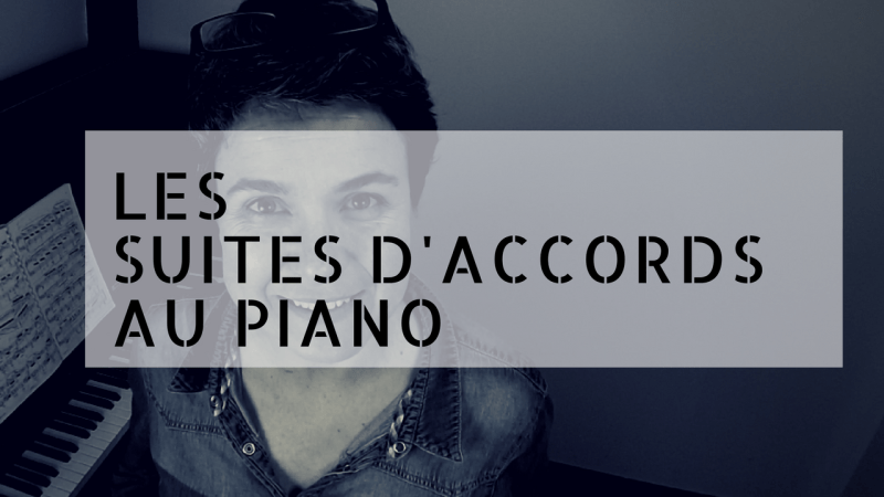 Les suites d'accords au piano-2