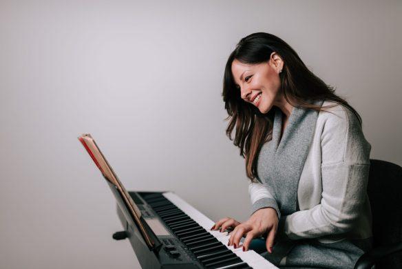 on peut vraiment se faire plaisir en apprenant le piano