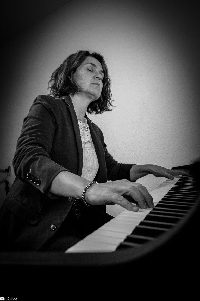 La pianiste Aurélie Chevalier