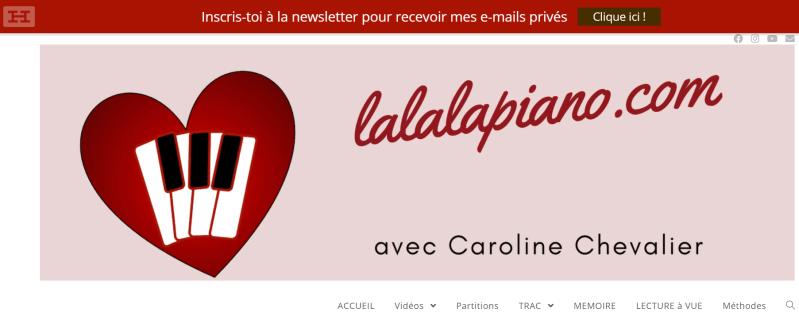 site de partitions gratuites lalalapiano