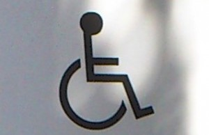 1 Picture 1 Word Handicap symbol