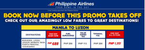 Philippine Airlines and PAL Express Promo Fare September 2013