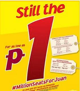Cebu Pacific Piso fare 2014