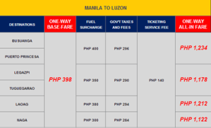 Philippine Airlines and PAL Express February and March 2014 Promo Fare Tickets