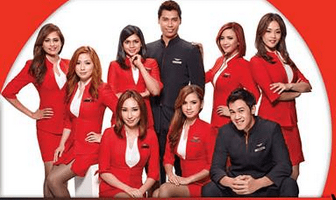 Male and female cabin crew job hiring by air asia for 2014 for Korean air cabin crew requirements