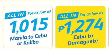 Cebu Pacific Piso Fare 2016