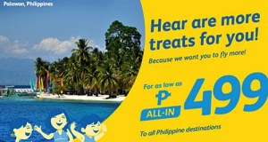 Cebu Pacific 499 Pesos Domestic Tickets Promo 2016 and 2017
