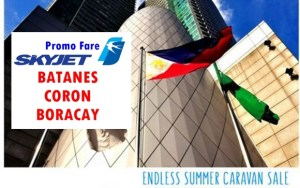 SKyjet Air Promo Fare to BATANES, CORON, BORACAY for Makati Walk-in Passengers
