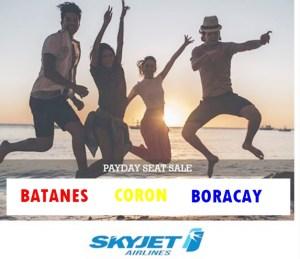 SKYJET Promo For Batanes, Palawan and Boracay Latest Seat Sale