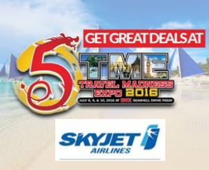 SKYJET Exclusive TRAVEL MADNESS EXPO 2016 Promo