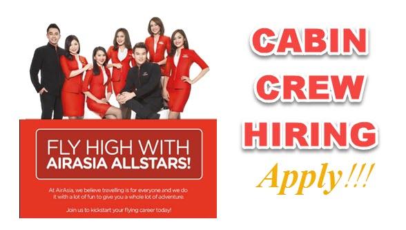 Air Asia Cabin Crew Hiring