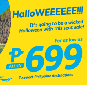 Cebu Pacific Promos 2017 from 699 Pesos and UP