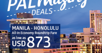 Philippine Airlines Promo 2017: Honolulu Hawaii