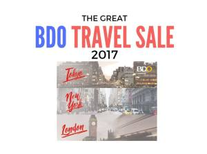 The Great BDO Travel Sale 2017: Dates and Venue
