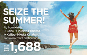 Air Asia Promo: April to September Promo Fare 2017