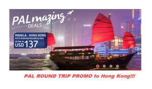 Philippine Airlines HONG KONG ROUND TRIP PROMO FARE 2017