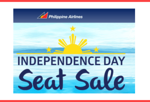 Philippine Airlines Independence Day Promo Fare for 2017 to 2018