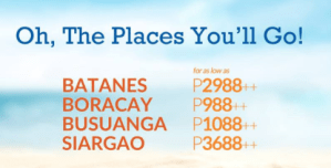 Skyjet Promo to Batanes, Coron, Siargao and Boracay 2017 to 2018