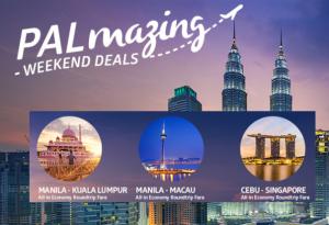 PALmazing Weekend Deals for Macau, Singapore, Kuala Lumpur Malaysia